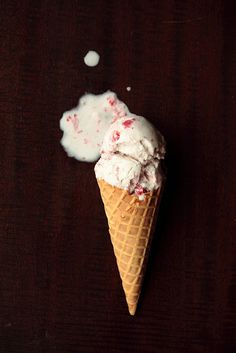 Roasted Strawberry Coconut Ice Cream by pastryaffair, via Flickr