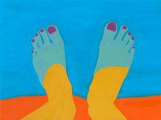 helena wurzel, toe, artworks, color combos, the edge, bathrooms, magazin, summer colors, bom dia