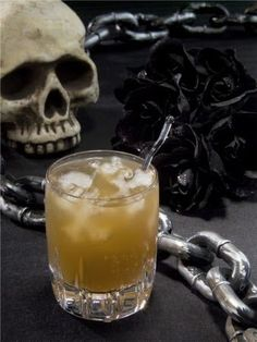 10 Tempting Halloween Drink Recipes food recipes, bottl, halloween parties, cocktail recipes, halloween drinks, dark rum, ginger beer, gingers, drink recipes