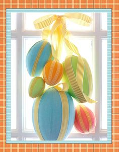 cute Easter decorations and food