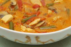 Thai Curry Coconut Soup