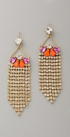Juicy Couture  Fringe Earrings