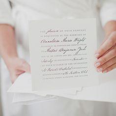 Wedding Invite by: cottonwoodstudio.co.nz