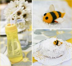 bee themed shower