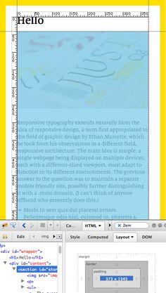 Using Type: Doing Responsive Typography. #fontshop