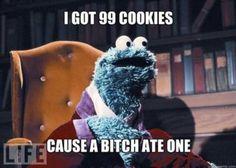 #cookiemonster