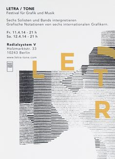 cargocollection:  Letra Tone Festival