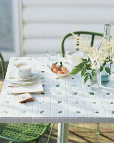 Sea-Glass-Tiled Tray or Tabletop How-To