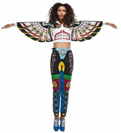 Jeremy Scott Adidas Originals Womens Totem Pole Look