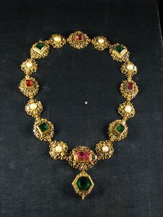 Russian Crown Jewel Necklace.