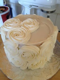 How to make a rosette layer cake