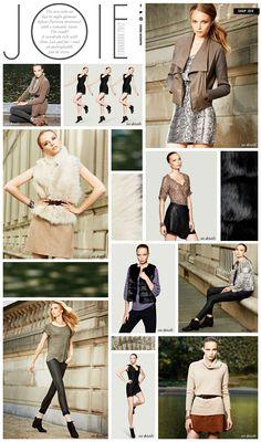 JOIE - Lookbook 2012 - Bloomingdale's http://bloomingdales.com/joiefall2012