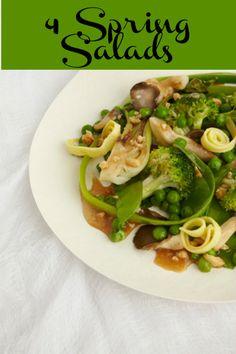 4 Salads For Spring