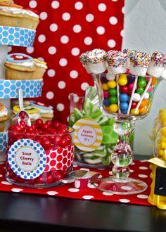 Few cute party ideas..
