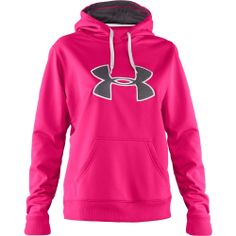 Under Armour Pink Sweatshirt. If this has the breast cancer ribbon on