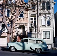 San Francisco streets are so pretty, via Flickr.