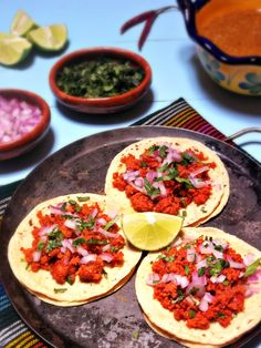 Tacos de Chorizo & Frijoles con Chorizo - Recipes by Leslie
