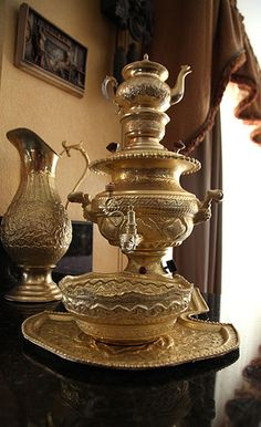 Persian Samovar ...A real good cup of tea is if its made with a Samovar