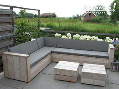 Tweedehands Tafels Kapaza : Kapaza loungeset u geïmpregneerd hout beitsen