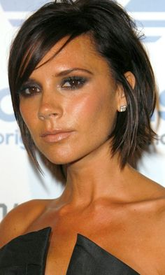 Victoria Beckham's Short Hairstyle Looked Super Chic, 2009