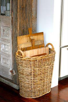 Basket of boards