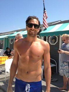 The Henrik Lundqvist Blog - Henrik at beach club in Sea Bright, NJ - 7/8/2012