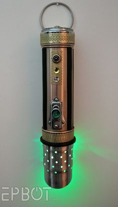 EPBOT: DIY Steampunk Lightsaber!