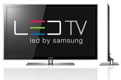 Samsung LED TVs - flach. Wirklich - flach.