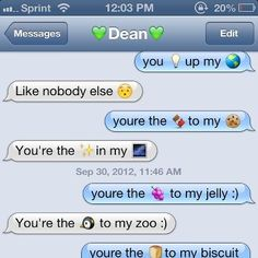 cute emoji texts to send your girlfriend