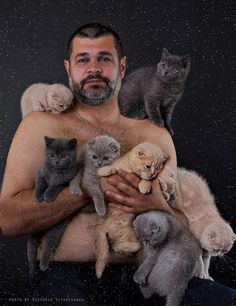 Absolute Worst Pictures of Men and Cats   You Just Need To Shut UPYou Just Need To Shut UP