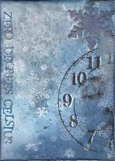 Winter ATC's - PAPER CRAFTS, SCRAPBOOKING & ATCs (ARTIST TRADING CARDS)
