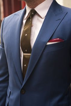 Classic color combo #polished #bachelor #menswear #fashion