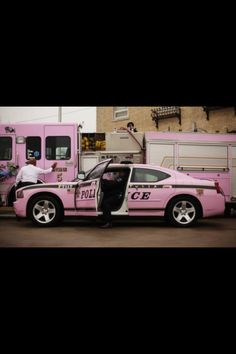 Pink Police Car:)