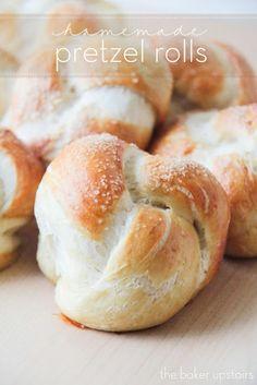 eat: Homemade pretzel rolls    The Baker Upstairs