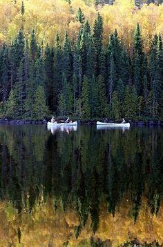 Fall canoeing...ahhhh
