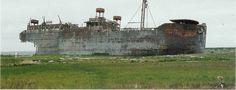 SS Coldbrook.  Middleton Island, Alaska