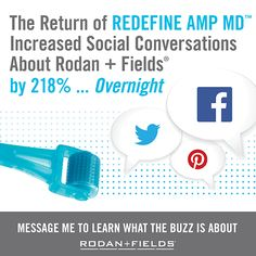 AMP MD - this must-have beauty tool is about to be relaunched! Good-bye botox, hello younger-looking skin! www.bethanyd.myrandf.com teamkeepglowin@gmail.com