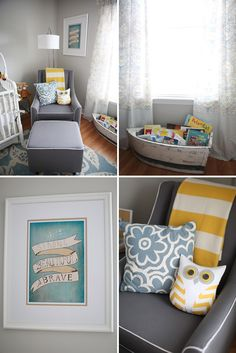 Where the Wild Things Are Themed Nursery--absolutely perfect gender neutral baby room