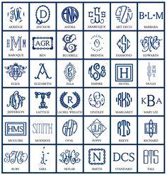 New monograms! http://www.numberfoureleven.com/monograms