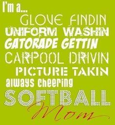 Softball Mom! softball (Jess L.)