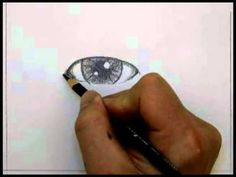 How to Draw an Eye- Part 1 by The Virtual Instructor.