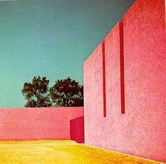 horse stables, mexico city, modern architecture, entrance halls, color combinations, luis barragan, place, lui barragan, summer colors