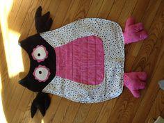 Girls Owl nap mat...