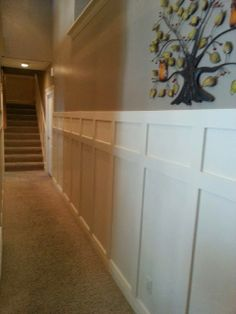 Wall paneling ideas on Pinterest Wainscoting Moldings