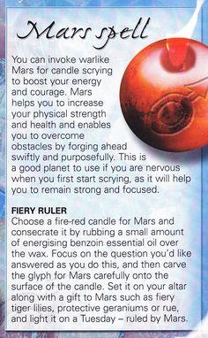 Magick Spells:  Mars #Spell.