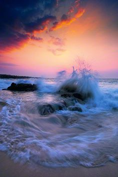 peter lik, ocean beach, the wave, sunset, the ocean, ocean waves, fine art photography, sea, big island hawaii