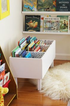 I MADE A BOOK BIN -
