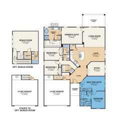 House designs with inlaw quarters on pinterest house for Inlaw quarters