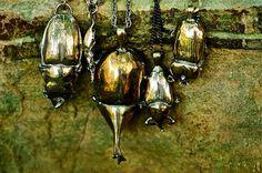 Beetle Charms