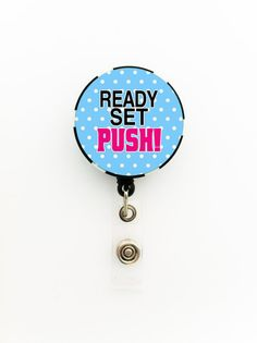 Labor and Delivery OB Nurse ID Name Badge Holder on by TrendyArtz, $7.75